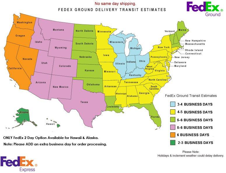 FedEx Ground Transit Estimates