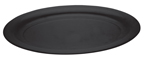 Oval Plastic Serving Trays - Black