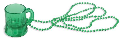 Mini Beer Mug  Beads - St. Patrick's Day Accessories