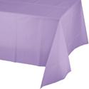 Lavender Plastic Tablecloths - 54 x 108 Inch