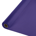 Purple Plastic Table Cover Rolls