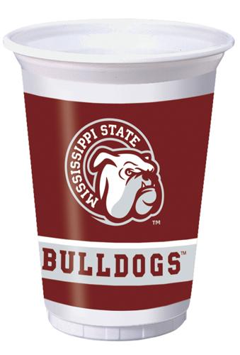 Mississippi State Plastic Beverage Cups