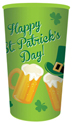 St. Patrick's Day Plastic Cups - 32 oz.