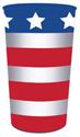 Patriotic Plastic Souvenir Cups – 22 oz.