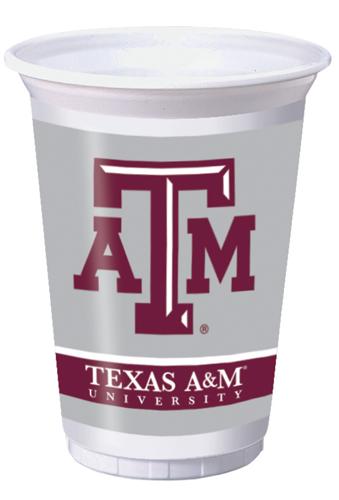 Texas A&M Plastic Beverage Cups
