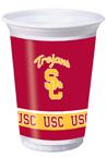 USC Trojans Plastic Beverage Cups