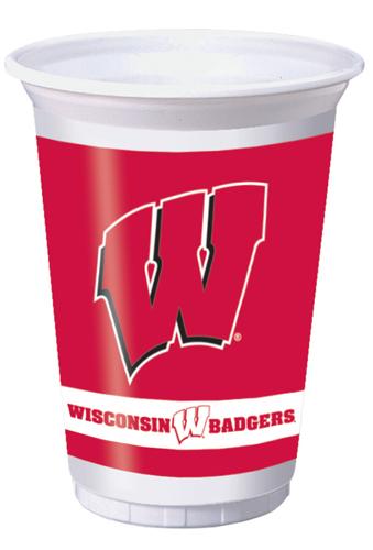 University of Wisconsin Plastic Beverage Cups