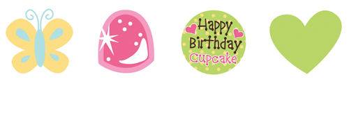 Sweet Treats Cupcake Toppers