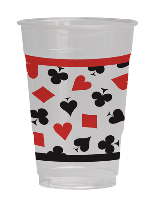 Card Night  Plastic Beverage Cups