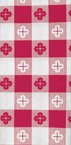 Red Gingham Paper Dinner Napkins - 1,000 Count