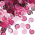 Candy Pink Swirls Party Confetti