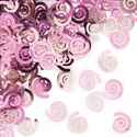 Pink Swirls Party Confetti