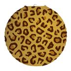 Animal Print Round Paper Lanterns - Leopard