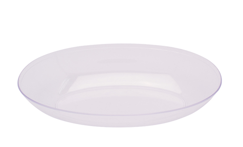 Small Oval Plastic Bowls – Clear