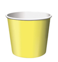 Mimosa Yellow Paper Treat Cups