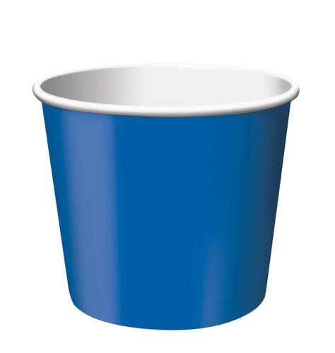 True Blue Paper Treat Cups
