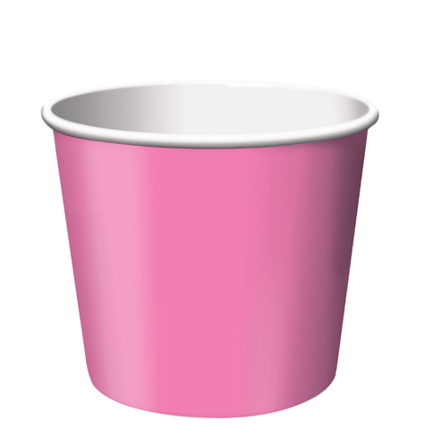 Candy Pink Paper Treat Cups