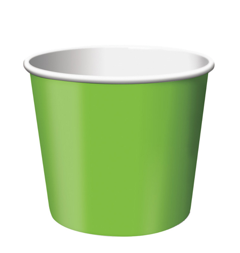 Lime Green Paper Treat Cups