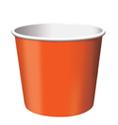Sunkissed Orange Paper Treat Cups