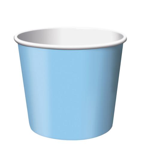 Pastel Blue Paper Treat Cups