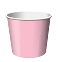 Classic Pink Paper Treat Cups