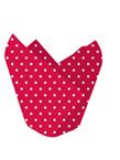 Red & White Polka Dot Tulip Baking Cups