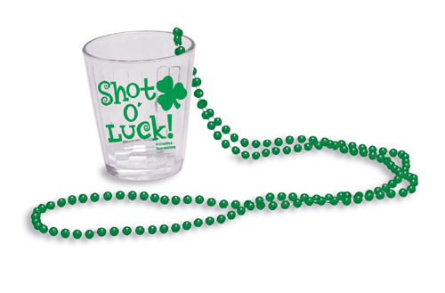 St. Patrick's Day Shot Glasses - Disposable Plastic