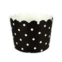 Black Polka Dot Treat Cups