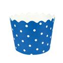 Blue Polka Dot Treat Cups