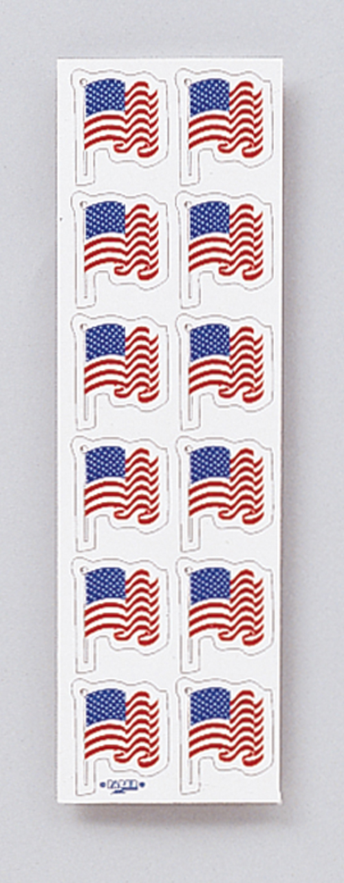 4th of July Stickers - Flags