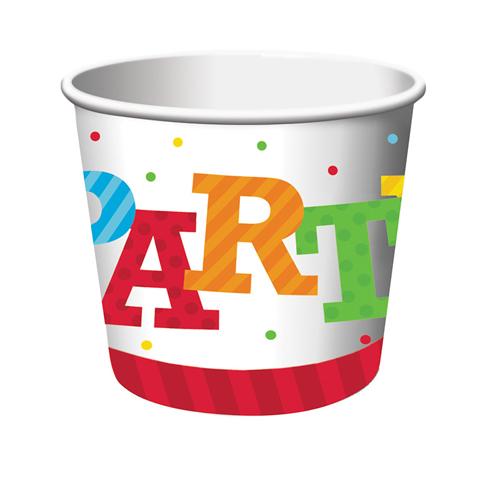 Happy Birthday Paper Treat Cups