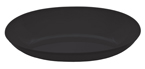 Small Oval Plastic Bowls – Black