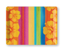Tropical Stripes Reusable Plastic Trays