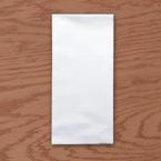 White Linen Like Dinner Napkins – 15 x 17 Inches