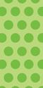 Lime Green Large Polka Dot Cello Bags