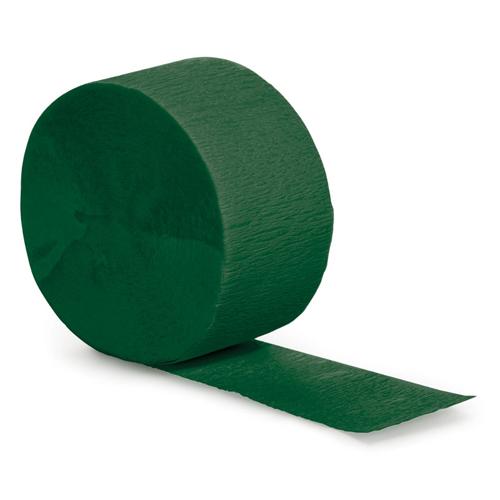 Hunter Green Party Streamers - 81 Feet