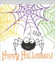 Happy Halloween Zipper Sandwich Bags