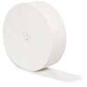 White Crepe Streamers - 500 Feet