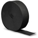 Black Crepe Streamers - 500 Feet