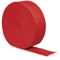 Classic Red Party Streamers - 500 Feet
