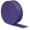 Purple Party Streamers - 500 Feet