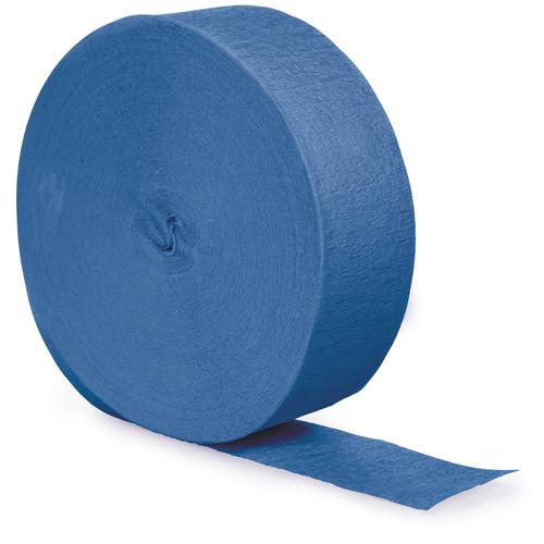 True Blue Party Streamers - 500 Feet