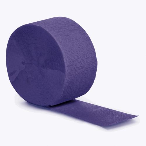 Purple Party Streamers - 81 Feet