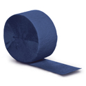 Navy Blue Party Streamers - 81 Feet
