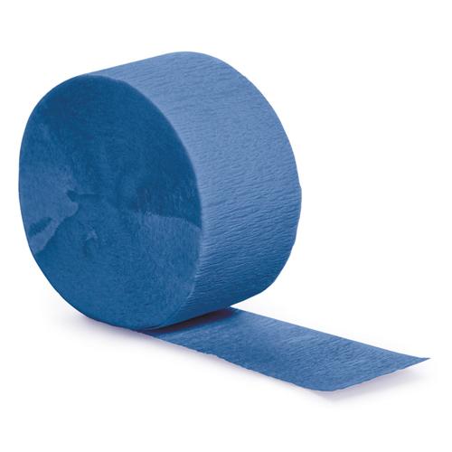 True Blue Party Streamers - 81 Feet