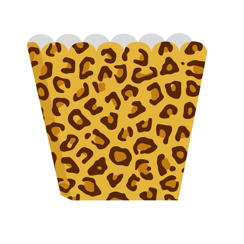 Leopard Print Treat Boxes