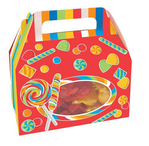Sugar Buzz Cookie Candy Boxes - Window