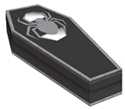 Halloween Coffin Treat Boxes with Window