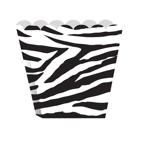Zebra Print Treat Boxes