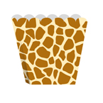 Giraffe Print Treat Boxes